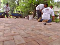 10 Things You Must Know about Paver Patios: Your options for an outside area are vast, but if you want the best value with the lowest maintenance, a paver patio is the way to go. While it may cost more up front, the savings over having to stain and seal it year after year will pay for itself in the long run.  From DIYnetwork.com