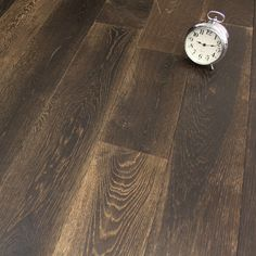 SOLID BLACK FIRED OAK BRUSHED AND OILED SOLID WOOD FLOORING