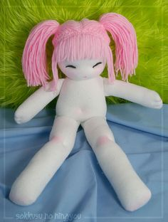 Poor, Naked Sock Doll by Merry Calliope, via Flickr