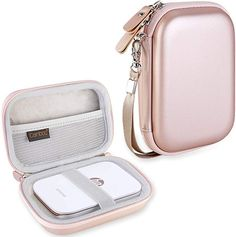 Buy Canboc Shockproof Carrying Case Storage Travel Bag for HP Sprocket Portable Photo Printer / Polaroid ZIP Mobile Printer Protective Pouch Box,Rose Gold at Discounted Prices ✓ FREE DELIVERY possible on eligible purchases. Portable Photo Printer, Hp Photo Printer, Hp Printer, Printer Paper, Iphone Printer, Printer Scanner, Hp Drucker, Instant Digital Camera, Digital Cameras