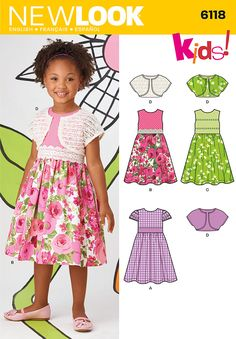 Simplicity Creative Group - Child's Dresses