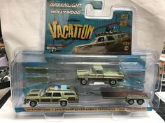 National Lampoon's Vacation * 1:64 Greenlight Hollywood Hitch & Tow Series 4 *  #Greenlight #Ford
