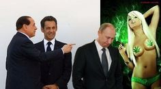 Putin and Blair participated in Sex-parties hosted by Silvio Berlusconi, testified the hooker Nadia Macri