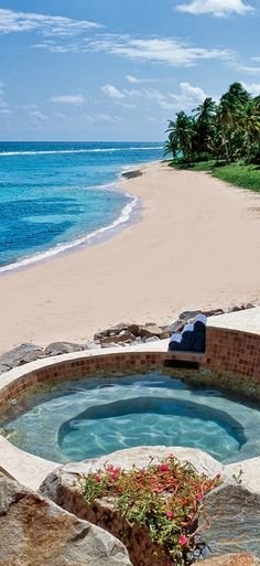 Peter Island, British Virgin Islands.. THIS WOULD BE JUST FINE