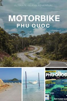 Explore Phu Quoc Island by motorbike. Use our detailed maps and itinerary and plan your 2 wheel adventure around Vietnam's Paradise Island.