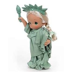 Precious Moments Little Miss Liberty.