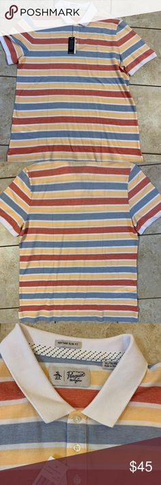 Penguin 🐧 T-shirt XL brand new Amazing design original penguin T-shirt With tags Size XL Check my other listings for bundle Thanks Original Penguin Shirts Polos Penguin T Shirt, Penguins, Brand New, Man Shop, Tags, Best Deals, Amazing, Check, Mens Tops