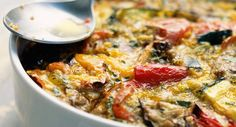 Gratin de courgettes et d'auberginesVoir la recette du Gratin de courgettes et d'aubergines >>