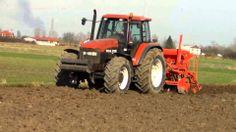 Wiosna 2014 - Siew Jęczmienia (New Holland M135 + siewnik KUHN LOGISEME ...