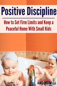 After reading this post, you'll know how to set firm boundaries and still keep a peaceful home using these science-backed positive toddler discipline tips. via Lauren | Military Wife and Mom