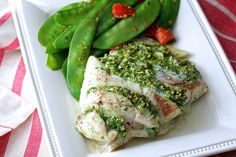 """This Kale and Feta Stuffed Cod is so moist and succulent. It is so easy to make, and is the perfectly easy """"company's coming"""" dish."""