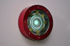 Stark's Heart. Wall Lamp via Etsy. -- Impressive. Would look really cool in a steampunk-themed room...