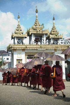Mahasi meditation center in Yangon