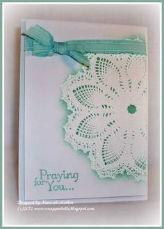 TLC381, CAS174, Thoughts of White Doilies by n5stamper - Cards and Paper Crafts at Splitcoaststampers