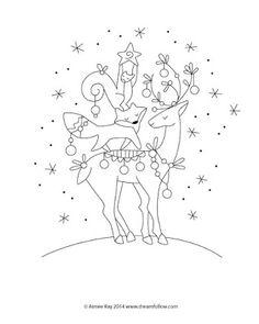 little dear tracks: Free Christmas Pattern!