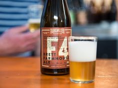 New York Beer: 7 Must-Visit Outer Borough Breweries Brooklyn Brewery, Farmhouse Ale, Beer Brewery, Craft Beer, Wines, Nyc, Bottle, Flask