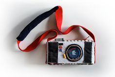 Camera shaped pouch Kids coin purse Box pouch by MihotchStitch, $35.00