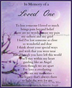 To the ones I've loved and lost...Mom, Dad, and Aunt Ida - until we meet again, forever in my heart