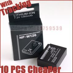 NP-W126 NPW126 W126 Battery for Fujifilm HS33 HS33 HS35 HS35 HS50 EXR XT1 XE1 XE2 XA1 XM1 XPro1 T1 E1 E2 A1 M1 Pro1 Batteries