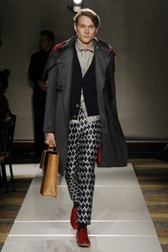 A look from the Menswear Designer of the Year Christy Jeehyun Lee.