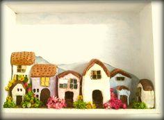 Miniarure houses of clay