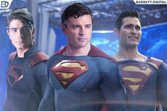 What a time to be a Superman fan! - Can't wait to see these 3 on screen together! Mundo Superman, Supergirl Superman, Superman Art, Superman Family, Superman Man Of Steel, Batman, Superman Images, Superman Stuff, Marvel Comics