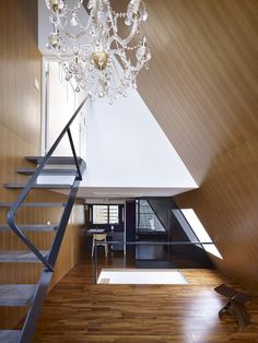 25.Angled roof house