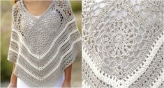 Sweet Martine Crochet Poncho