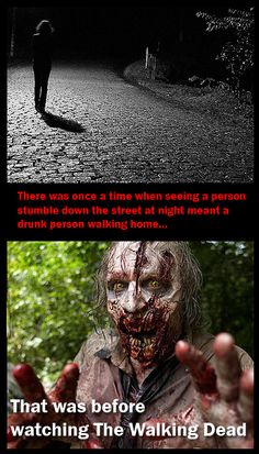 That was before, The Walking Dead