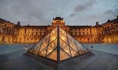 If I had to come up with a favorite architect, it would be I.M. Pei.  Many buildings around Boston and around the world that I have liked, I have looked up and found out they are by I.M. Pei.  I guess I like glass.  His pyramids in the Courtyard of Napoleon in front of the Louvre Museum are spectacular.  I know they had some critics when they first were built, but what great art doesn't?