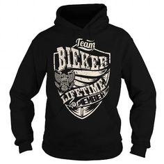 I Love Last Name, Surname Tshirts - Team BIEKER Lifetime Member Eagle T-Shirts