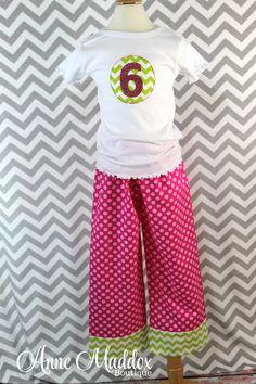 Cherry Limeade Birthday Pajamas f0e46e349