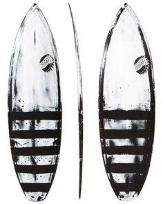 SURFSTITCH - SURF - SURFBOARDS - PERFORMANCE SHORTBOARD - THOMAS SURFBOARDS SHORT MAC THRUSTER SURFBOARD - ONE COLOUR PIGMENT CONTRAST FILLER