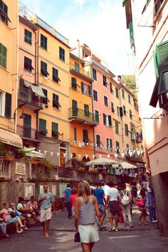 """""""Cinque Terre"""" translates to Five Lands. It is made of five picturesque towns, perched along the rugged cliffside of the Italian Riviera #CinqueTerre"""