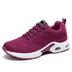Cheap running shoes, Buy Quality running shoes for women directly from China breathable running shoe Suppliers: FEOZYZ Knit Vamp Sneakers Women Comfortable Breathable Running Shoes For Women Sport Shoes Fitness Zapatillas Deporte Mujer Sneakers Mode, Air Max Sneakers, Sneakers Fashion, Purple Sneakers, Black Sneakers, Ladies Sneakers, Clarks, Women's Shoes, Flat Shoes