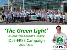 Canada's leading IDLE-FREE campaign began in an NSCC classroom in Halifax in 2005 (Advanced Diploma Public Relations).  After eight years of research and marketing sustainability in Canada and the U.S., here are the key lessons.