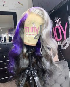 Weave Hairstyles, Cute Hairstyles, Bts Hairstyle, Creative Hair Color, Long Wigs, Wig Making, Creative Hairstyles, Protective Styles, Lace Front Wigs