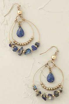 Anthropologie EU Belize Hoop Earrings