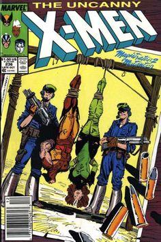 The Uncanny X-Men Oct 1988 Marvel Comic Book Storm Wolverine Busting Loose Marvel Comics, Marvel Comic Books, Marvel Heroes, X Men, Comics For Sale, Fun Comics, Best Comic Books, Comic Books Art, Comic Art