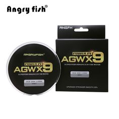 Angryfish 9 strands Super PE Braided Fishing Line Strong Strength Line - Fishing Equipments Fishing Pliers, Fishing Tools, Fishing Line, Carp Fishing, Fishing Rod, Tackle Shop, Survival Life, Braids, Strength
