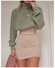 Trendy Fall Outfits, Spring Outfits Women, Winter Fashion Outfits, Girly Outfits, Retro Outfits, Mode Outfits, Cute Casual Outfits, Look Fashion, Stylish Outfits