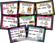 Teaching With Love and Laughter: Plural Posters and Word Family Books