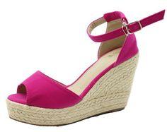 2017 Women High Heel Sandals Summer Open Toe Button Straw Braid Wedges Platform Beach Sandals women
