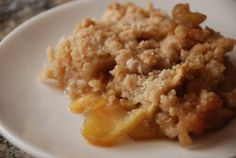 Lovin' From the Oven: Another Apple Crisp.  Great topped with vanilla ice cream!