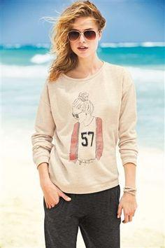 Varsity Girl Sweater - love it!
