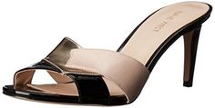 Nine West Womens Andryna Synthetic Slide Sandal Black Textured 95 M US ** Read more  at the image link. (This is an Amazon affiliate link and I receive a commission for the sales and I receive a commission for the sales)