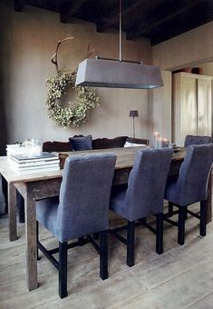 Home Office Chairs Comfortable - - - Living Room Chairs, Dining Chairs, Dining Table, Dining Room, Kitchen Chairs, Wood Table, Style At Home, Home Interior, Interior Design