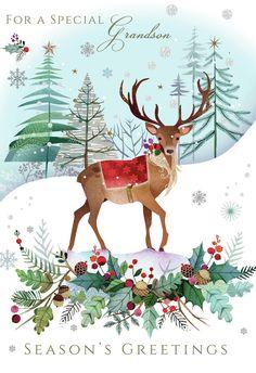 Leading Illustration & Publishing Agency based in London, New York & Marbella. Christmas Bags, Christmas Animals, Christmas Greetings, Winter Christmas, Vintage Christmas, Christmas Crafts, Christmas Decorations, Xmas, Winter Illustration