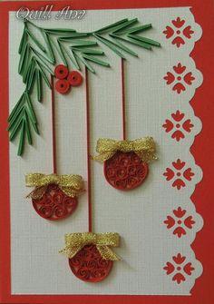 Craciun Paper Quilling Cards, Paper Quilling Patterns, Origami And Quilling, Quilling Paper Craft, Quilling Flowers, Paper Crafts, Quilling Christmas, Christmas Paper, Handmade Christmas