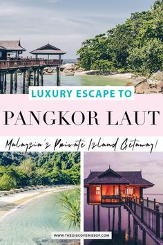 Looking for a luxury holiday? Discover Pangkor Laut in Malaysia - guaranteed to inspire island hotel wanderlust for your next trip. A luxury hotel set on a private island. Here's the full lowdown... #travel #spa #malaysia #luxurytravel #luxury Travel Route, Asia Travel, Luxury Escapes, Luxury Holidays, Hotel Reviews, Luxury Travel, Travel Destinations, Beautiful Places, Island